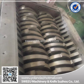 China D2 SKD11industrial Shredder Blades For Rubber Tyres Shredding Anti - Wear supplier