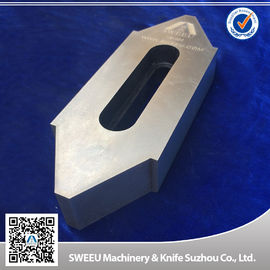 China Wear Resistance Plastic Granulator Blades For Copper Cutting High Intensity supplier