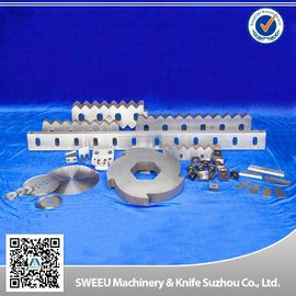 China Granulator Stator  Blades / Zerma Blades For Plastic Recycling Machine / Line supplier