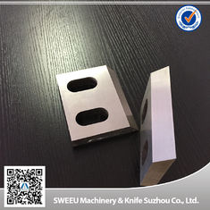 China Durable D2 Steel Plastic Cutting Blade Crusher Wear Parts Long Working Life supplier