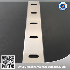 China PP PVC Cutting Blade For Plastic Crusher Machine HRC 56-58 Hardness supplier