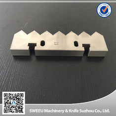 China Vecoplan 70 Single Shaft Shredder Machine Blades Counter Knife HRC 56-58 supplier