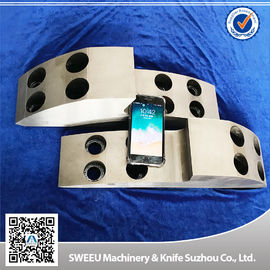 PVC Pipe Shredder Machine Blades , Industrial Knife Blades ISO9001 Approval