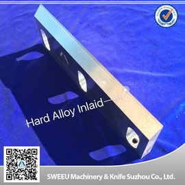 Highly Processed Carbide Cutting Inserts / Plastic Grinder Blades D2 Material