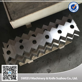Fixed Single Shaft Plastic Shredder Blades Manufacturers Small Thermal Deformation